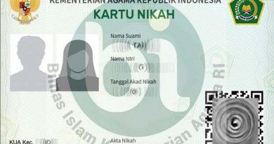 Kemenag Terbitkan Kartu Nikah Digital